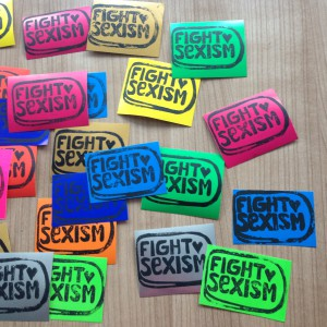 Fight Sexism Stickers